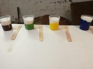 floetrol barwniki pouring