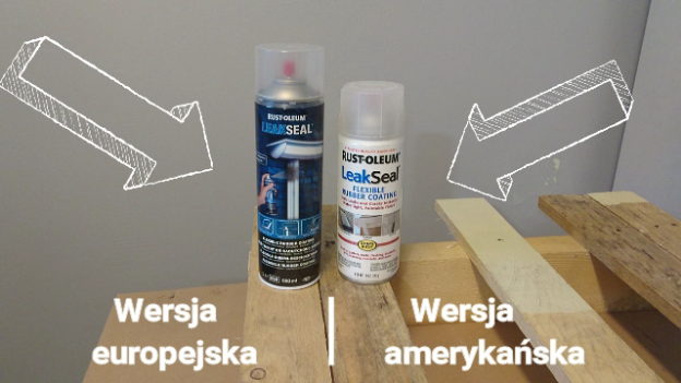 leak seal europa vs USA