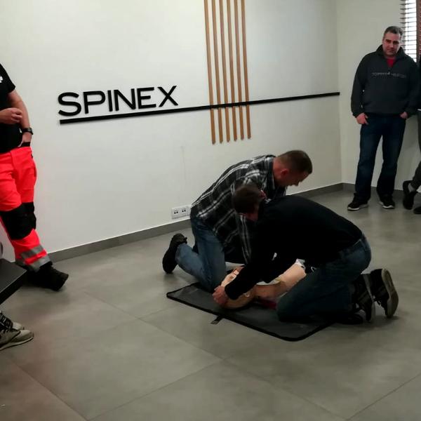 szkolenie pierwszej pomoci i BHP SPINEX