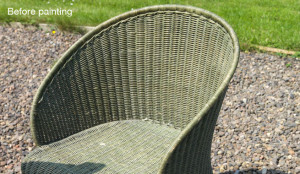 wicker-chair-before-spray-painting
